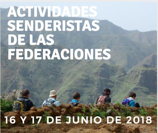 actividades senderistas del 16 y 17 de junio de 2018