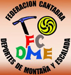 Logo : Federación Cántabra de Deportes de Montaña y Escalada
