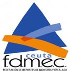 Logo : Federación de deportes de montaña y escalada de Ceuta