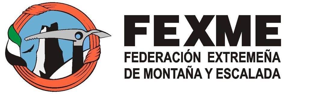 Logo : Federación Extremeña de Montaña y Escalada