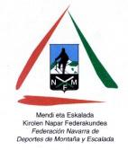 Logo : Federación Navarra de Deportes de Montaña y Escalada