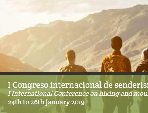 I Congreso Internacional de Senderismo y Deportes de Montaña .El senderismo a estudio. 24-47 de Enero de 2019. Valencia