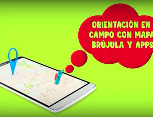 Orientación en el campo con mapa, brújula (II) y apps